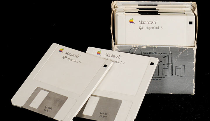 Apple Macintosh HyperCard Floppy Disks