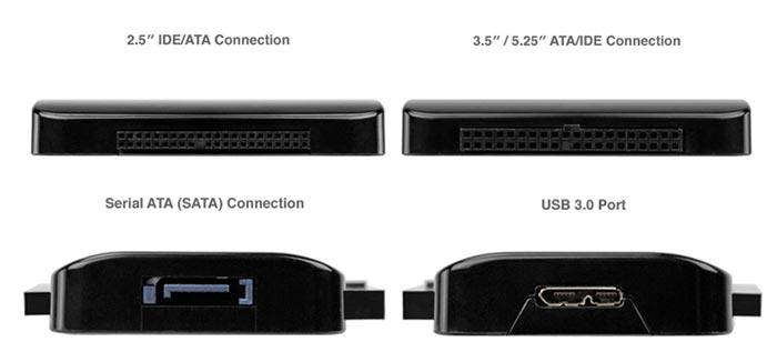 NewerTech Drive Adapter SATA IDE USB 3.0