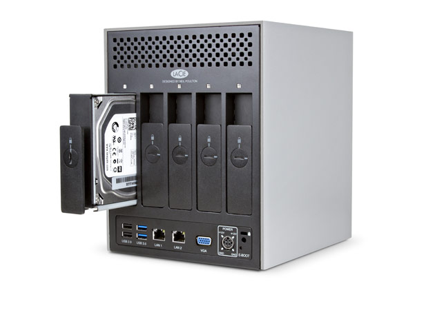LaCie 5big NAS Pro Back Hard Drive Storage Backup