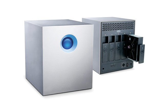 LaCie 5big Thunderbolt Series Hard Drive Backup Storage Solution