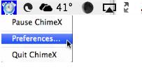 ChimeX Mac OS X