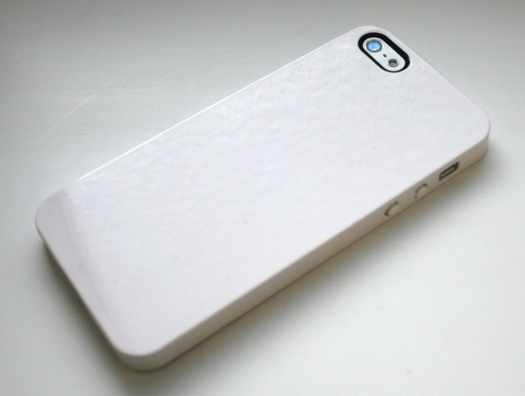 SwitchEasy Nude White Slim Case for iPhone 5