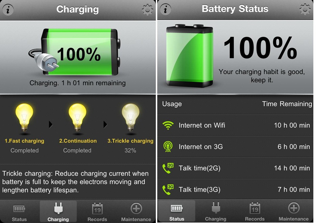 Battery Doctor Plus iPhone iOS iPad