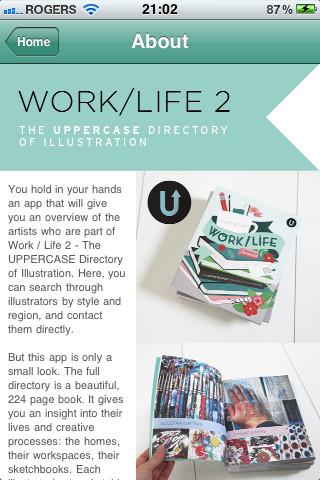 Work/Life 2 iPhone App