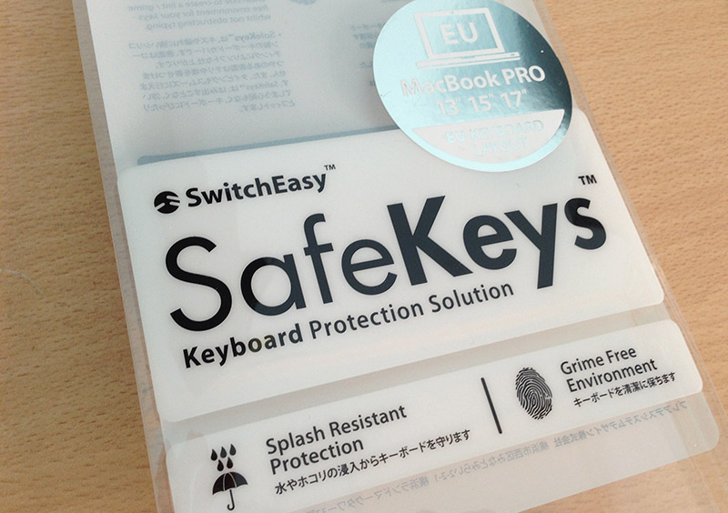 SwitchEasy SafeKeys MacBook Pro keyboard cover