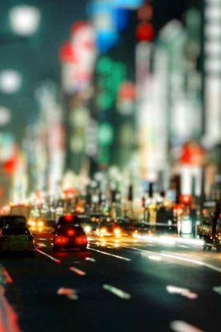 Bokeh City Lights